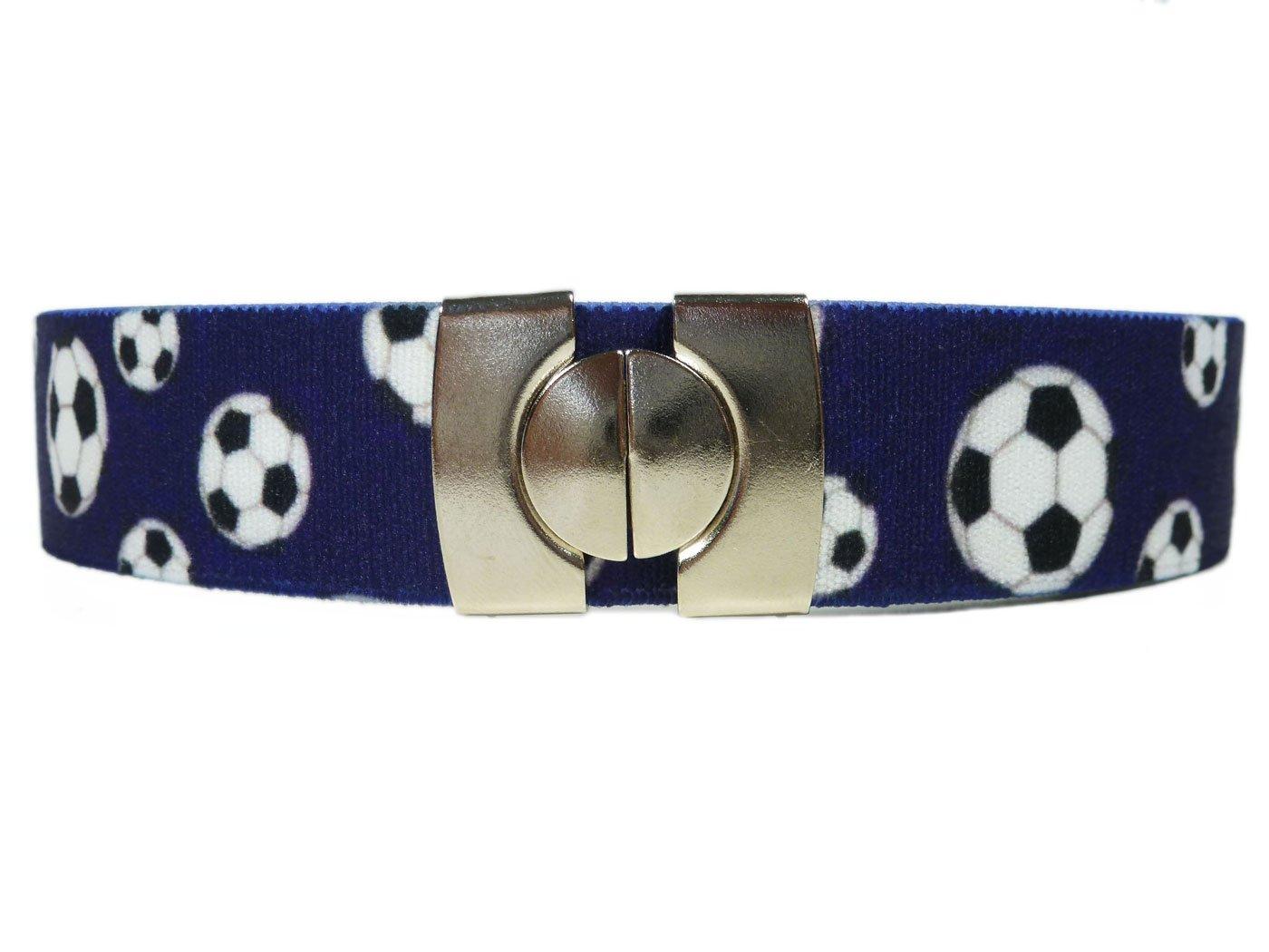 Olata Cintura Elasticizzata per Bambini 1-6 Anni, Stampato design Stampato design - Denim KIDSBELTHdenim