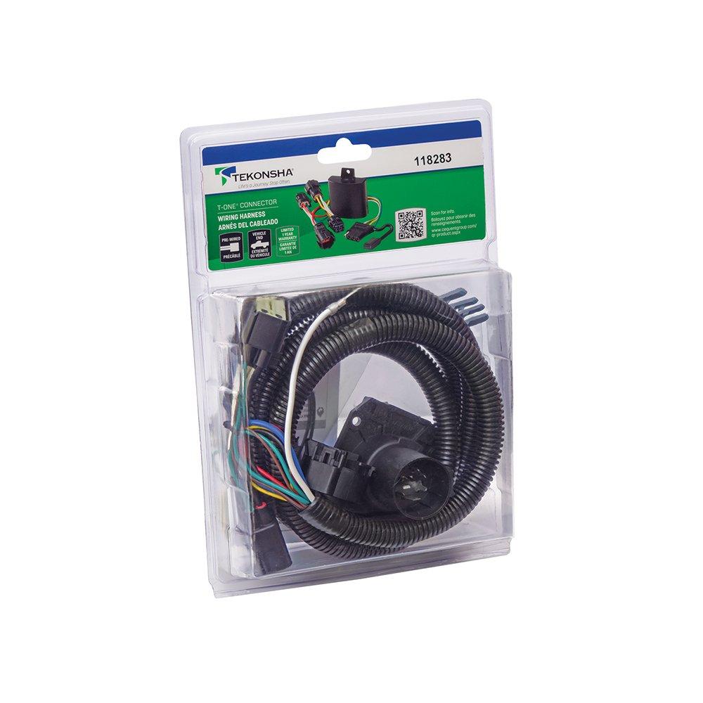 Tekonsha 118283 7-Way Tow Harness Wiring Package