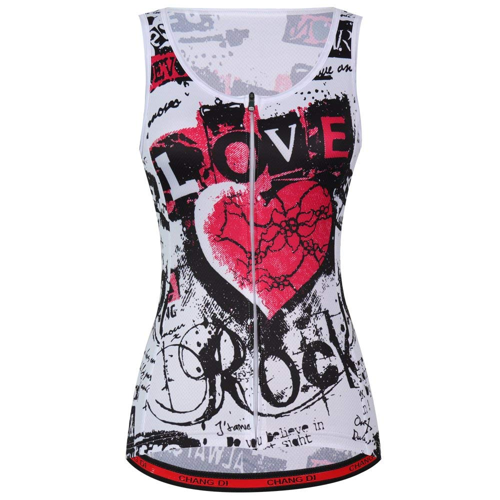 ZM Summer Cycling Vest Sleeveless Cycling Jerseys Cycling Women Outdoor Clothing