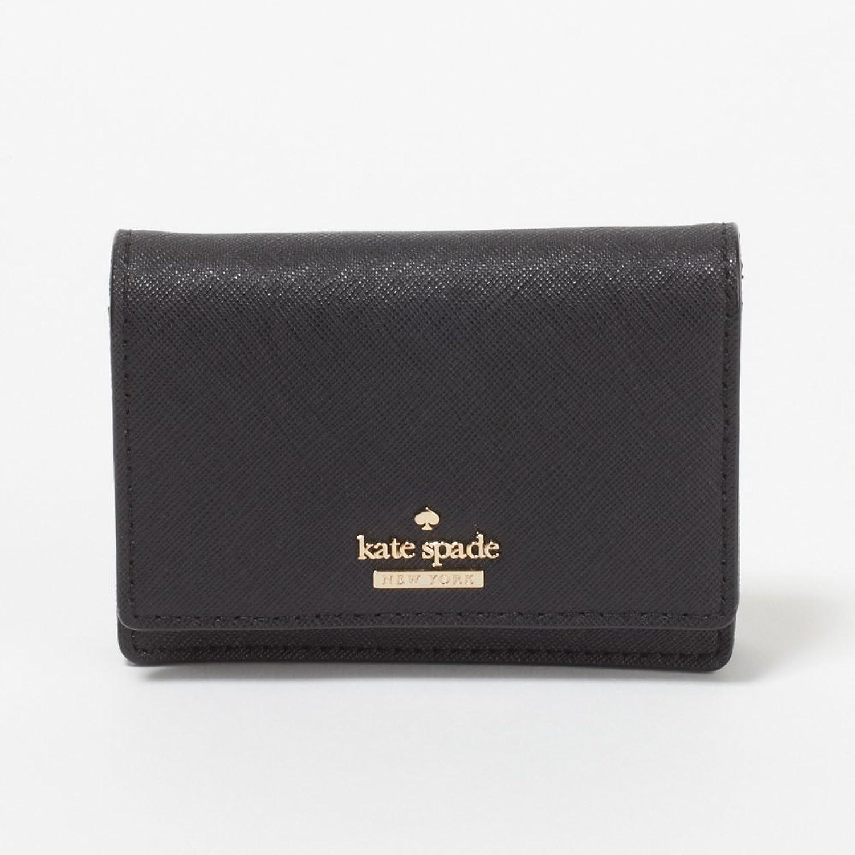 (ケイトスペード) KATE SPADE カードケース/パスケース PWRU5096 001 Black 【Cameron Street】 Beca [並行輸入品] B06XT6RQDL