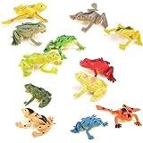 15 x Reptilien Schlangen Frösche Geckos Mitgebsel Kindergeburtstag N 54