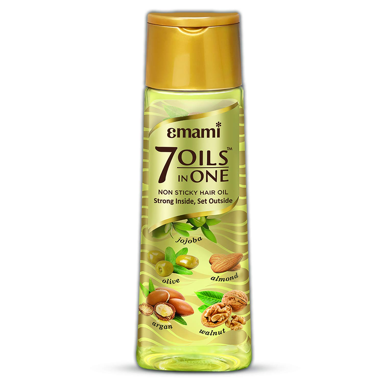 Emami 7 Oils in One Non Sticky Hair Oil Strong Inside, Set Outside ...