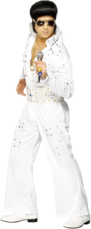 Desconocido Disfraz de Elvis Presley para hombre: Smiffys: Amazon ...