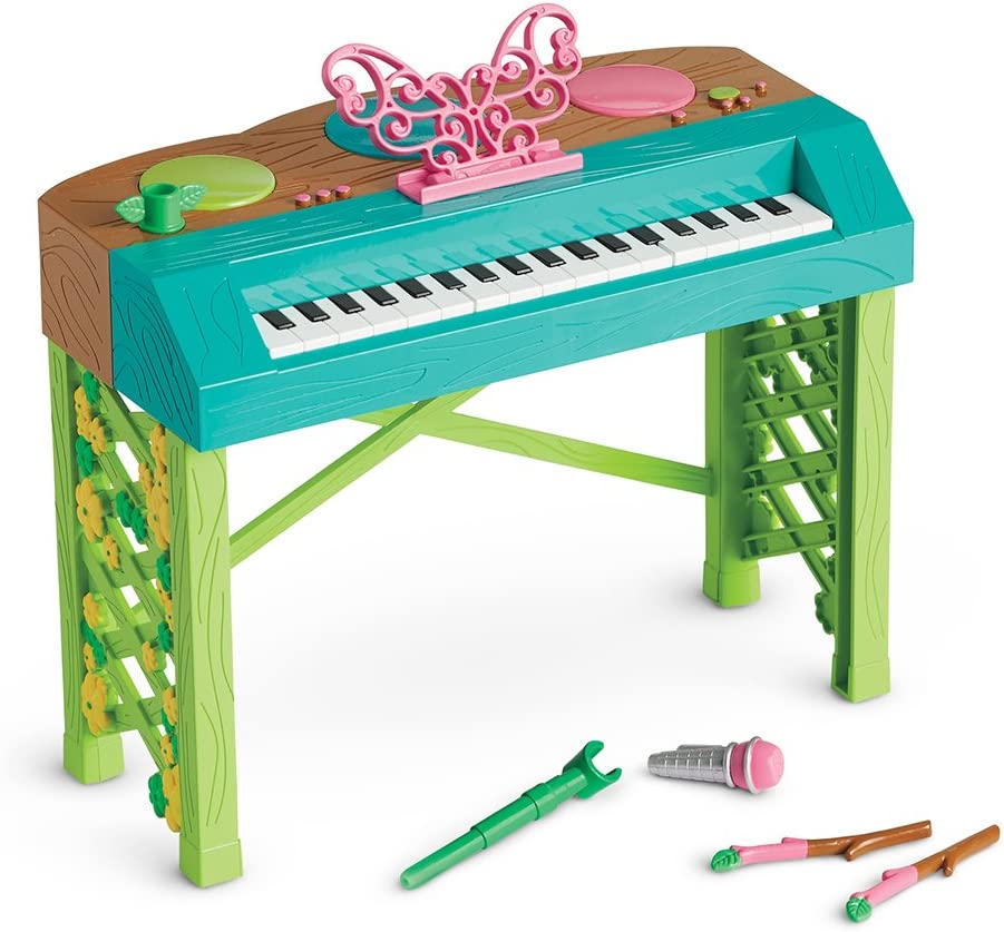American Girl Welliewishers Butterfly Beats Keyboard Doll Accessories