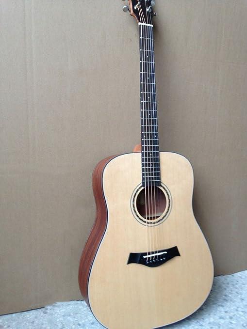 GFEI Chapa de madera de chapa _ FOLK GUITAR Ballad guitarra eléctrica guitarra shabili matte