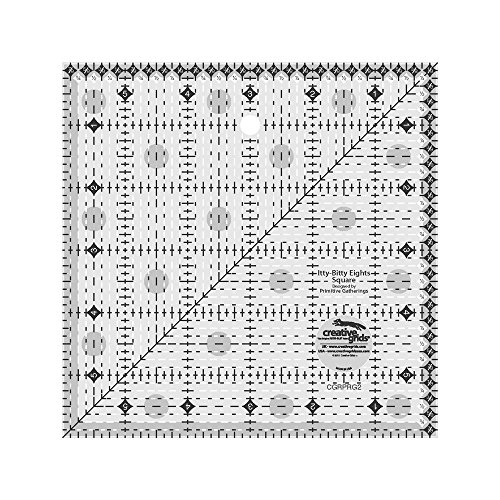Creative Grids Quilting Ruler Itty Bitty Eights Square 6 Inc