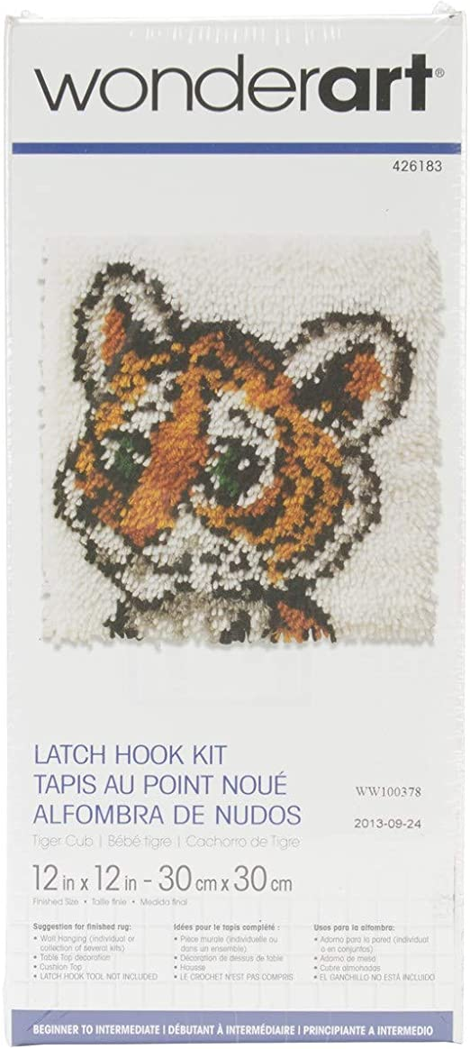 "Walking Tiger Counted Cross Stitch Kit 7/"" x 14 /"" Wildlife"