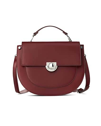 6955c612 Zara Women's Medium oval crossbody bag 1430/004: Amazon.co.uk: Clothing