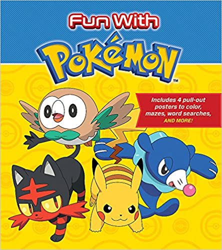 Fun With Pokemon: Includes 4 Pull-out Posters To Color, Mazes, Word Searches, And More! PDF Descargar