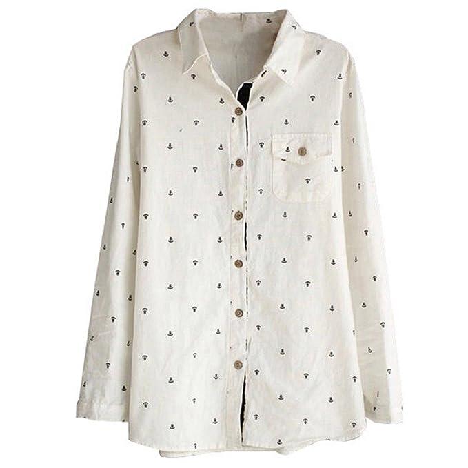 Ancla de manga corta de mujer diseño Bocideal correa de distribución trapezoidal en blusa para camisas