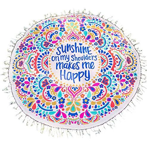 Sunshine Happy Tassels Blankets Cutton product image