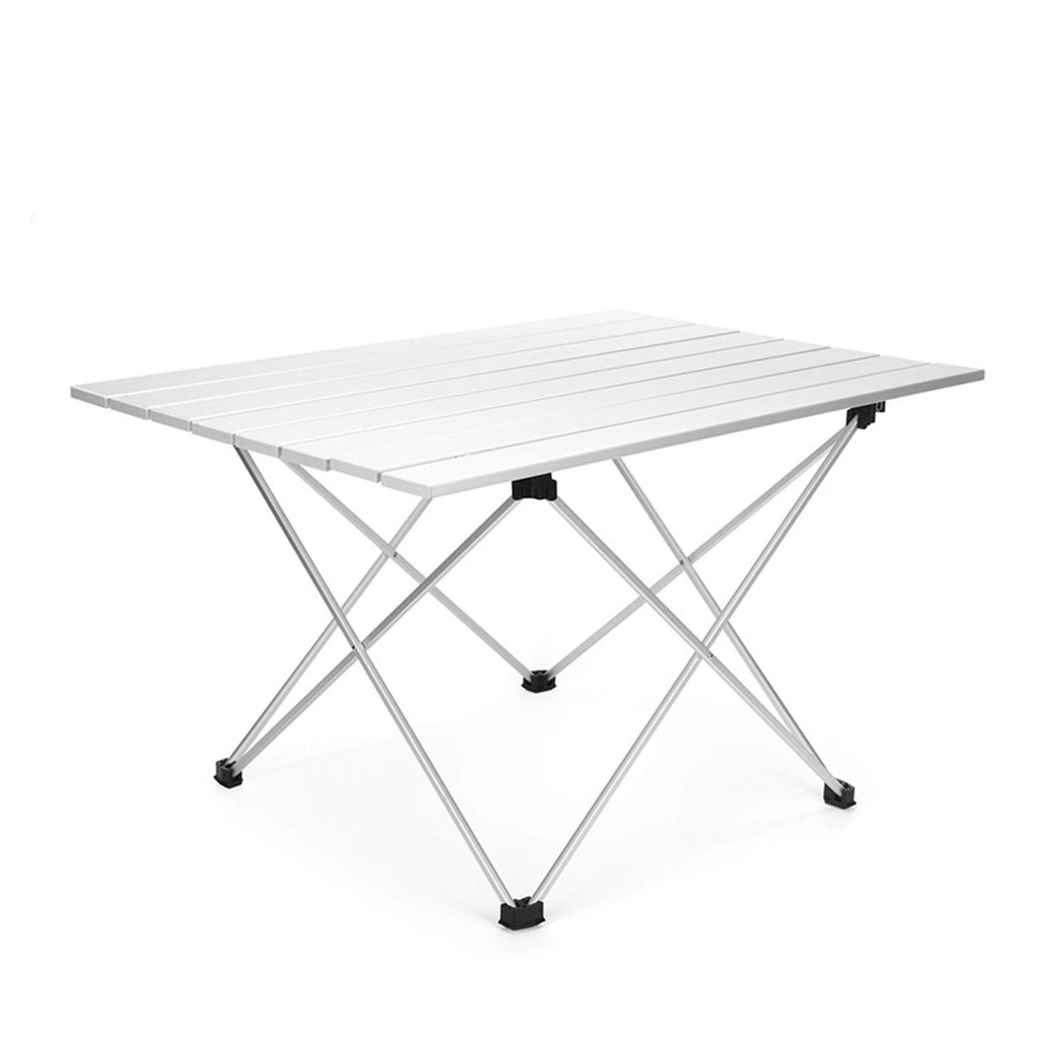 YOZOOE Camping Portable Picnic Table Barbecue Table, Outdoor Aluminum Folding Table, Multi-Special Camping Equipment (Size : L) by YOZOOE