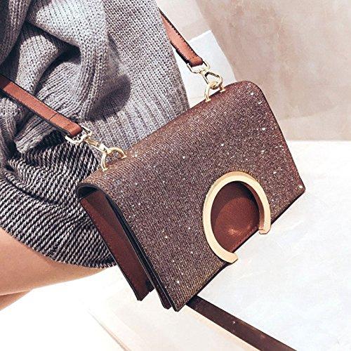 de option sac à bandoulière petits Messenger sac main nouveau féminin bandoulière Shopping à main dames sac sac en sacs travail 3 couleur voyage à Femmes ZCM pour Marron les à occasionnels sac aAvWqAB