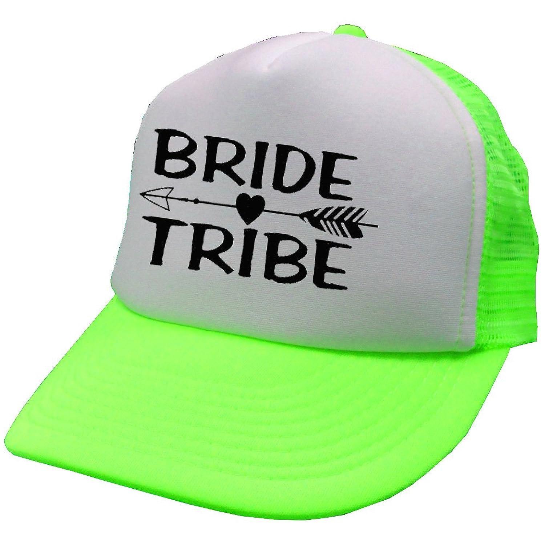 Neon Team Bride Mesh Trucker Hat Cap Bachelorette Party Wedding Snapback 2df3540d480d