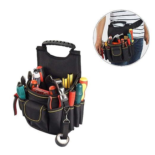 AUTOECHO Bolsa Multifuncional Para Herramientas Eléctricas (bolsa De Mantenimiento Duradera, Bolsa De Lona Oxford, Bolsa Para Cinturón, Bolsa De ...