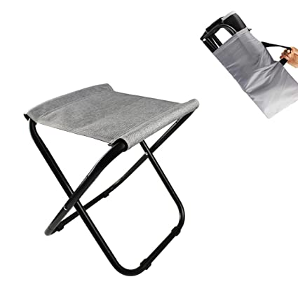 Amazon.com: CAIN Taburete de campamento, ligero taburete de ...