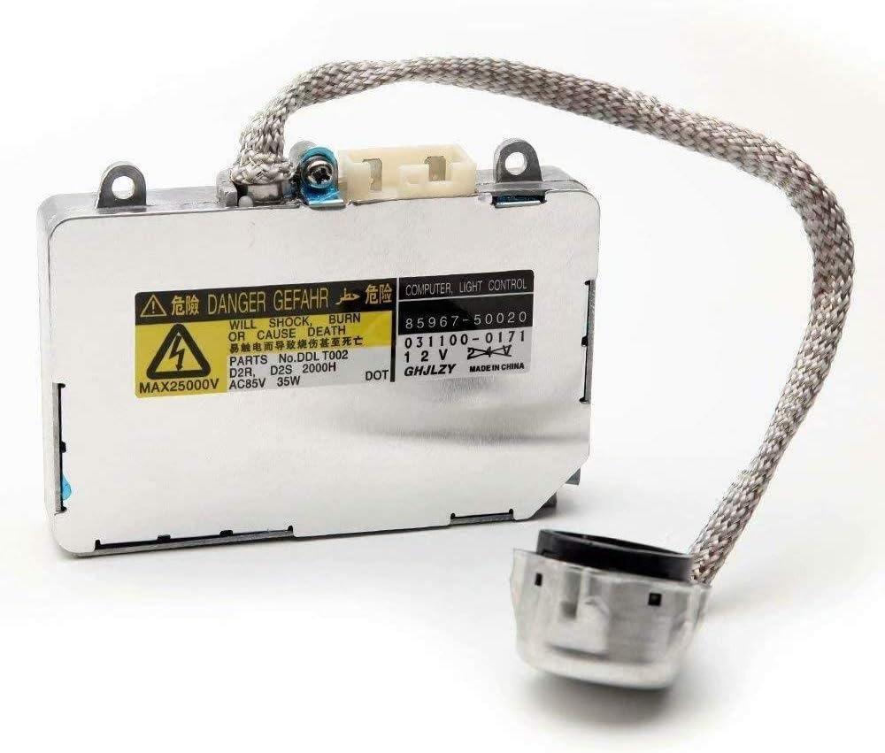 EMIAOTO Xenon HID Ballast Headlight Control Unit OEM 85967-30050 85967-33010 /& Others for Lexus Toyota Mazda Lincoln Xenon HID Ballast D2S D2R 85967-50020