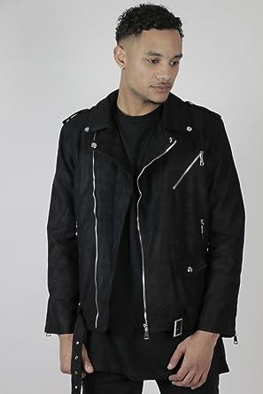 Veste H G2201 Streetwear Homme Noir John Vêtements Biker rq1EWx6r