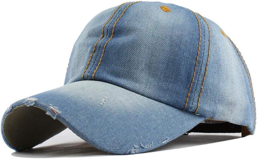 Unisex Cowboy Baseball Cap Fall Casual Sanpback Hats for Men and Women Outdoor Sport Denim Jeans Hip Hop F220