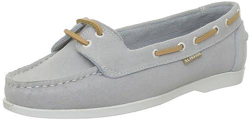 US Polo Assn Deloris Deloris_Bleu (Wat) - Mocasines de terciopelo para mujer, color azul, talla 40: Amazon.es: Zapatos y complementos