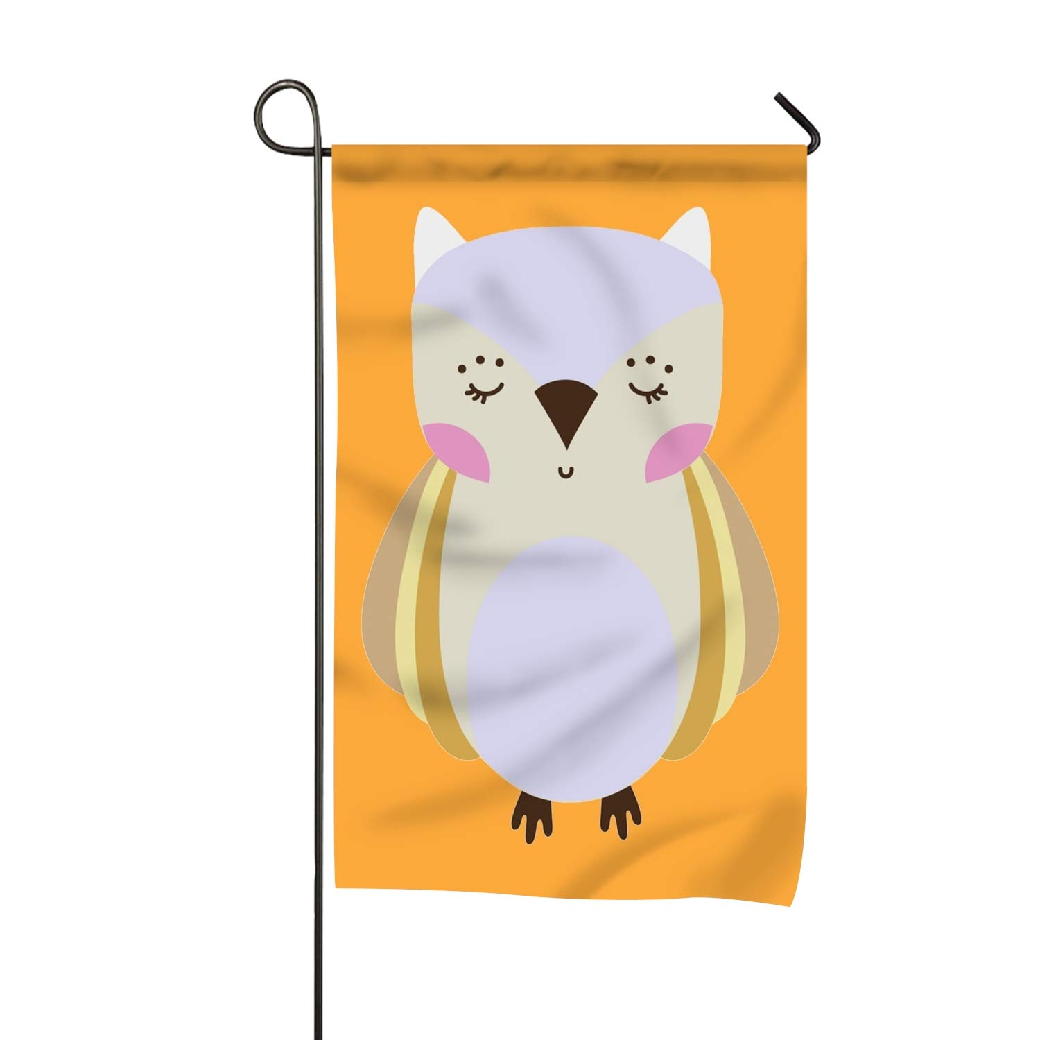 Amazon com : Lucy Curme Red Moon Garden Flag Vivid Color and