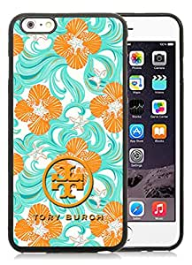 Unique And Luxurious Designed For iPhone 6 Plus 5.5 Inch TPU Cover Case With Tory Burch 27 Black Phone Case