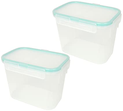 snapware airtight small rectangular storage container 47 cup pack of 2 containers - Small Storage Containers