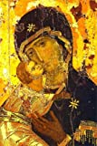 Our Lady of Vladimir 12th century Poster Art Photo Icon Posters 12x18
