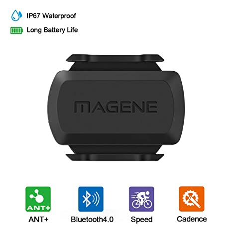 New Bicycle ANT+Bluetooth Wireless Speed Cadence Sensor For IOS And Android GA