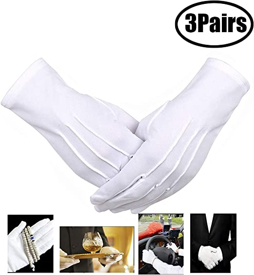 En coton tants Gants Avec Grip Différentes Tailles Couleur Noir ou Blanc