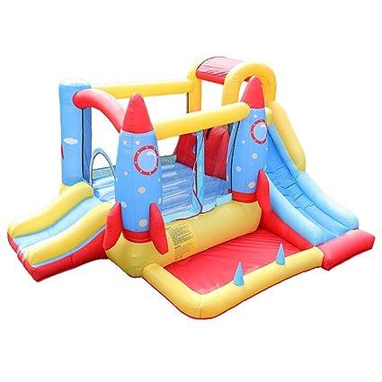 Scivoli da giardino Giocattoli Per Bambini Castello Gonfiabile Per