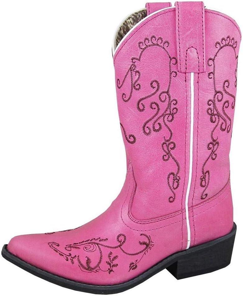 Smoky Mountain Girls' Jolene Western Boot Snip Toe