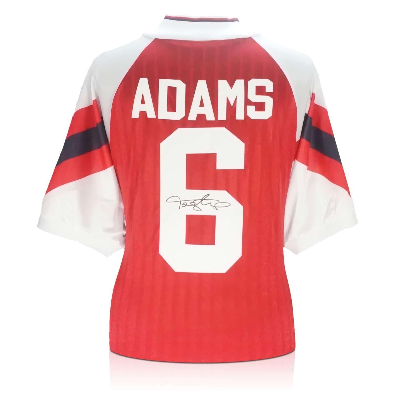 brand new 90daa 415ff Exclusive Memorabilia Tony Adams Signed Arsenal 1994 ...