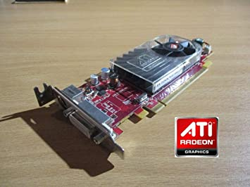 Vídeo Tarjeta gráfica AMD Radeon HD3450 256 MB DDR2 SDRAM PCI-E DMS-59 S-Video
