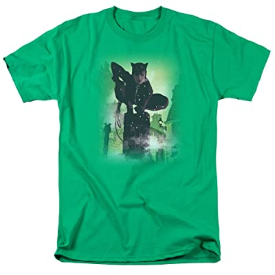 Wicked Tees Mens BATMAN Short Sleeve CATWOMAN #63 COVER T-Shirt Tee: Clothing