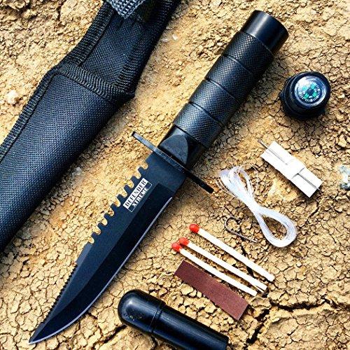 Carbon Steel Survival Knives - 8