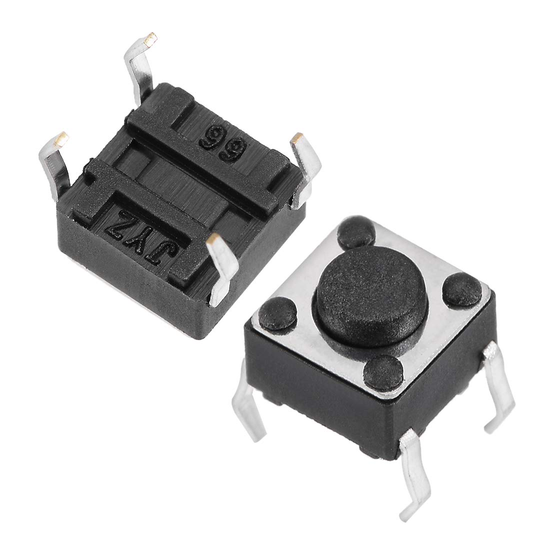 uxcell 6x6x14mm Panel Momentary 4-Pin PCB DIP Tactile Tact Push Button Switch 100PCS
