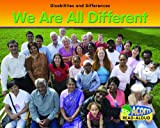 We Are All Different, Rebecca Rissman, 1432922785