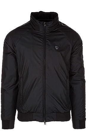 Emporio Armani EA7 blouson homme en Nylon noir  Amazon.fr  Vêtements et  accessoires 4d944487e81