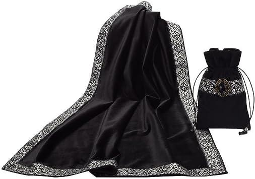 Altar Tarot Mantel//Bag Decoración Adivinación TARJETAS Wicca Cuadrado mantel