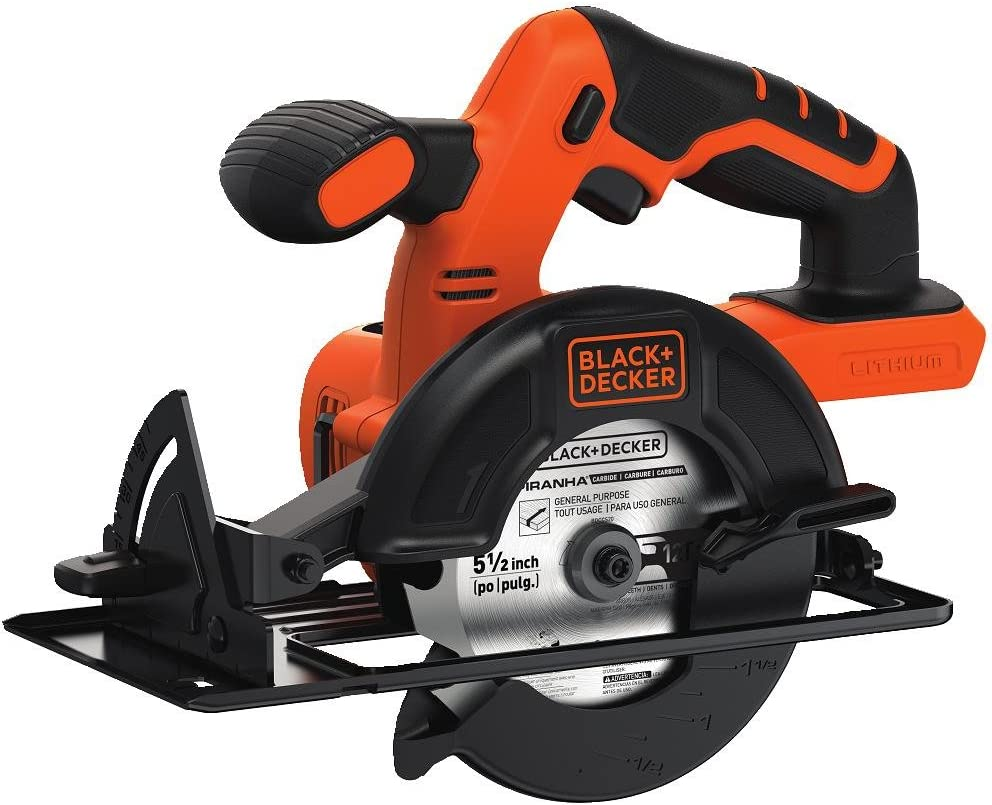 BLACK+DECKER BDCCS20B 20V MAX Cordless Circular Saw
