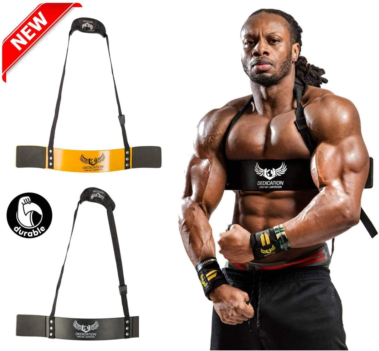Arm Blaster for Biceps Triceps Curls muscle Isolator Bicep Curls Bomber Big Guns