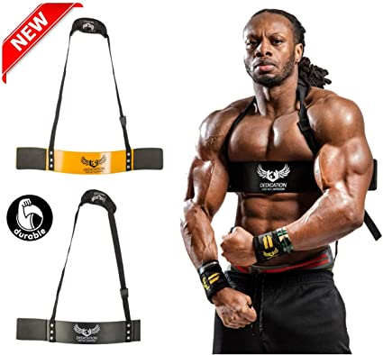 Sports Arm Blaster for Biceps /& Triceps Dumbbells,Bodybuilding /& Lifting Support