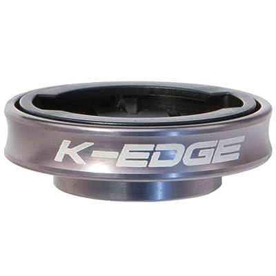 K-Edge 660185-02 Gravity Cap Garmin 1/4 Turn Top Cap Mount, Gun Metal : Sports & Outdoors
