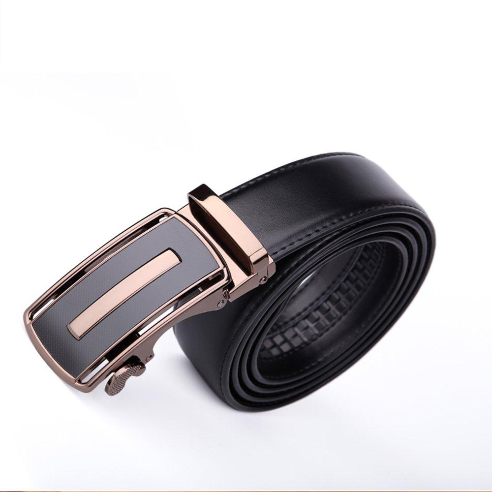 BOMEANS Mens Faux Leather Belt Soft Top Grain Roller Buckle