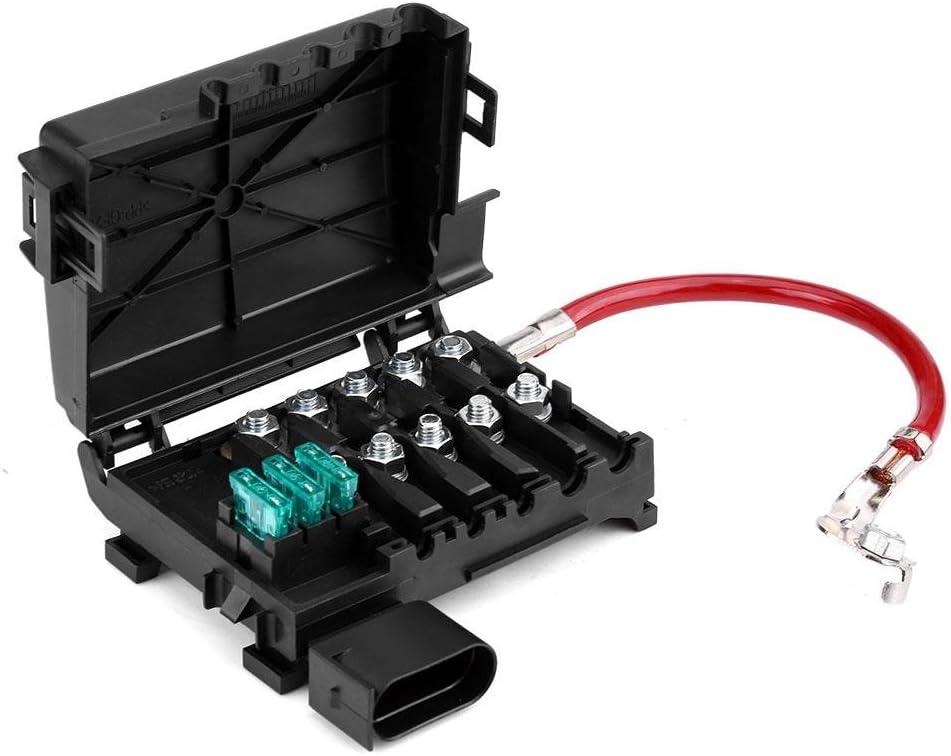 Qiilu Terminal de Caja de fusibles de batería Titular para OE:1J0937550A