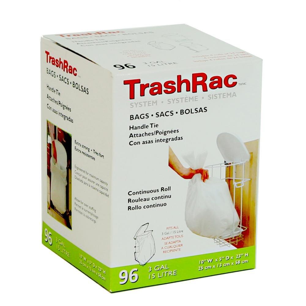 Sunbeam Trashrac 87096 3 Gal Trash bags44 ;パックof 96 B0749F5671