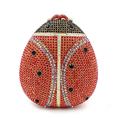 WYB Europäischen und amerikanischen Luxus-Diamant-Abendbeutel / hochwertigen voller Diamanten Abendtasche Hand