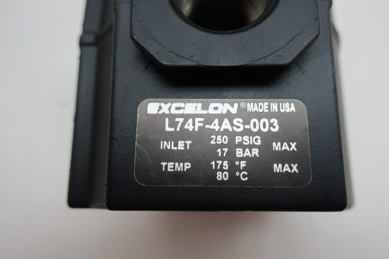 EXCELON L74F-4AS-003 Pneumatic Lubricator 1//2IN NPT 250PSI D655607