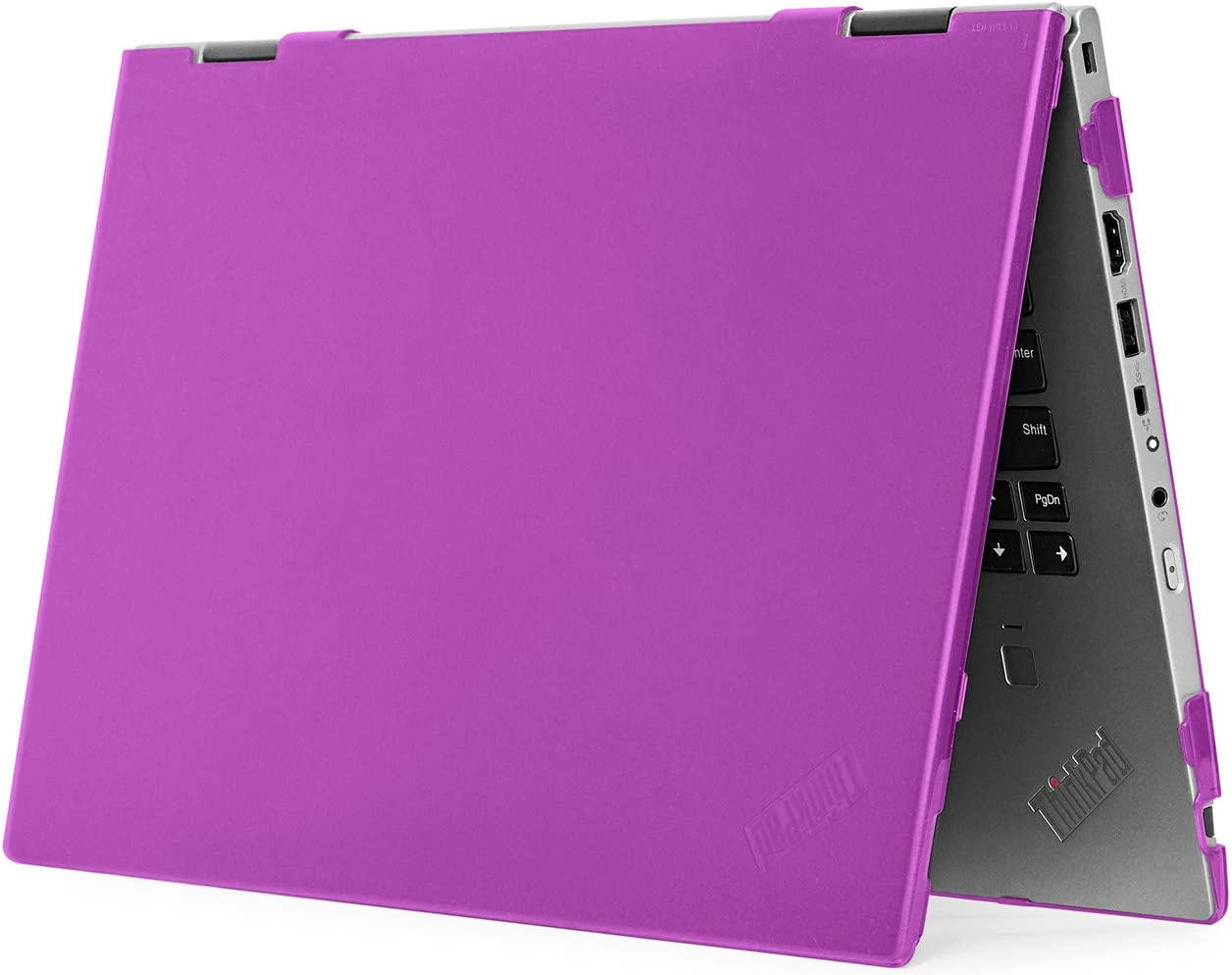 "mCover Hard Shell Case for 14"" Lenovo ThinkPad X1 Yoga (3rd Gen) Laptop Computer (X1-Yoga-3G Purple)"